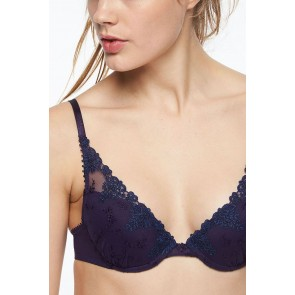 Passionata White Nights Push-Up BH schwarz