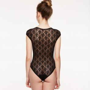 Passionata Crazy Lace Body schwarz