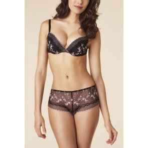 Passionata Fairy Night Push Up BH schwarz-rose
